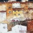 NUMERO-15-2019-acrilici-50x50cm-San-Gimignano