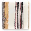 MINIMAL – 2013, acrilico, foglia oro, colle e impasti di pietre su tela, 50x50cm