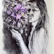 rebirth2-33x24-biro-e-acquerello-su-carta-cotone-2017