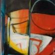 Antonio-Baldassarra-atomo-anno-1985-acrilico-tela-80x70-prix-3400€