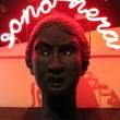 Io-Sono-nera-terracotta-dipinta-neon-2010-cm.30x30x40-2