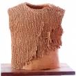 Maglia-lacerata-Lucia-Balzano-1993-terracotta-intrecciata-cm.38x45