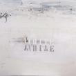 White-Acrilico-su-tela-fili-di-cotone-