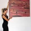 IL VIAGGIO NEL DESERTO - 2017, acrilici su tela, 100x120cm