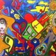 Acrilico-su-tela-100x70-Iniziando-con-lei-2015