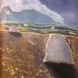 covoni-di-grano-1980-olio-su-tela-40x50