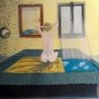 donna-allo-specchio-1980-olio-su-tela-40-x50