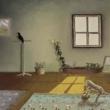 interno-animato-1981-olio-su-tela-30x40