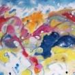 Nuvole-e-colori-Acrilico-su-tela-80x120x4