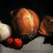 Natura-morta-con-cipolla-aglio-corbezzoli_work-in-progress_35x25