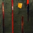 16.-Il-sentiero-del-sogno-Tecnica-mista-cemento-e-vetro-2010-cm-31x43