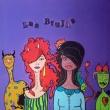 Acrilico-e-collage-su-tela-gallery-30x30x3-Las-brujas