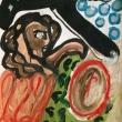 womaninlove-Oliosucartoncino33x48-2005jpeg