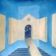 TENERA E' LA NOTTE - 2016, acrilico su tela, 70x60cm