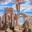 RESURREZIONE-ACRILICO-450X500X50CM