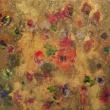 Barocco-fiorito-acrilico-50x50-cm