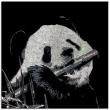 Lovely-Panda-9300-Crystals-from-Swarovski®-su-plexiglass-50x50-cm.-2016