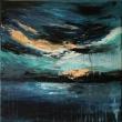 Mare-in-tempesta-40x40-acrilico-su-tela-2018