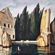 Lisola-dei-Morti-Acrilico-su-tela-90x60
