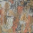 AMBRA DENSA - 2017, terra cruda su tela, 110x85cm