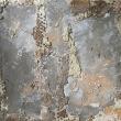 ARMONIA - 2017, terra cruda su tela, 110x100cm