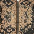 SINTONIA 1/2 - 2017, terra cruda su tela, 35x35cm