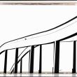 Ponte di accesso al centro di Barcellone Maremagnum