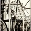 Particolare del Beaubourg Parigi