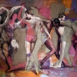 Constantin-Migliorini_The-dance-of-life_2019_cm-217x165_oil-and-acrylic-on-canvas-and-jute