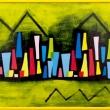 Tiallas-acrilico-su-tovaglia-plastificata-citta-di-notte-con-montagne-122x50cm-2018-copia
