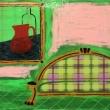 Tiallas-acrilico-su-tovaglia-plastificata-soggiorno-con-quadro-con-brocca-rossa-92x72cm-2019-copia