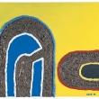 002/08 - 2008, olio, fibra di Carbonio, silicone su tela, 80x60x5cm