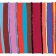005/11 - 2011, olio, acrilico, silicone su tela, 120x50x5cm
