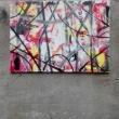 Kritikal..-50x70-trascinamento-colori-acrilici-2016