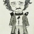 E.A.Poe-Inchiostro-e-carboncino-su-carta-21x33-2019