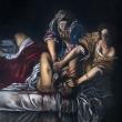 Nanni-Pasca-2018-Giuditta-e-Oloferne-da-Artemisia-Gentileschi-olio-su-tavola-40x50