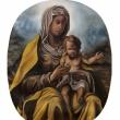 Nanni-Pasca-2018-Madonna-di-MontSerrat-oil-on-linen-cm-20x22