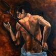 Plovton_-oil-on-canvas_-cm-20X20