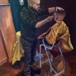 The-barber-oil-on-canvas-cm-60x80