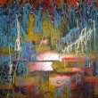 senza-titolo-120x100-colori-acrilici-specchi-su-tavola-di-legno