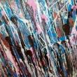 senza-titolo-120x150-acrilico-su-legno-bitume-specchi-
