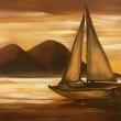 Arrivo-al-tramonto-Acrilico-su-tela-40x50-