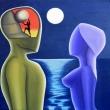 Cosi-distante-che-sembri-la-luna-2014-olio-su-tela-60x60-Giuseppe-Perrone