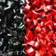 Nero-su-Rosso-2018-acrilico-su-pellicola-VHS-su-plastica-e-legno-cm-48x48-Giuseppe-Perrone-PARTICOLARE-1