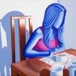 pensieri-a-colazione-2017-pigmento-e-olio-si-tela-61x120-Giuseppe-Perrone