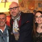 Mario Biondi e Alviero Martini