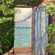 Sea-door