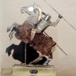 60x55x10-anno-1999-titolo-Cavaliere-con-lancia-riciclo
