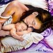 Maternità_-olio-su-tavola-25x35