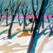 Il-sonno-del-bosco-2009-olio-su-tela-cm-123-x-90